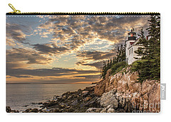 Bass Harbor Head Lighthouse Sunset Carry-all Pouch