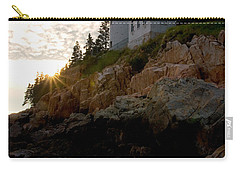 Bass Harbor Lighthouse 1 Carry-all Pouch by Brent L Ander
