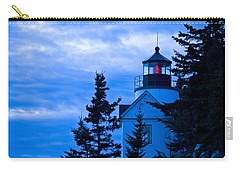 Bass Harbor Lighthouse Blue #2 Carry-all Pouch
