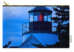 Bass Harbor Lighthouse Blue Carry-all Pouch