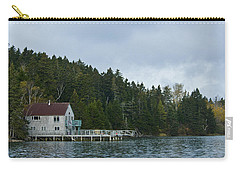 Bass Harbor Morning Carry-all Pouch