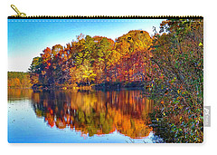 Bass Lake, Nc, Fall Colors Carry-all Pouch