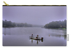 Bass Masters Lake Oconee Fishing Art Carry-all Pouch by Reid Callaway