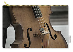 Bass Player In The Park Carry-all Pouch