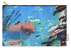 Carry-all Pouch featuring the painting Bass Pro Outdoor World by Ed Heaton