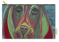 Basset Hound Abstract Carry-all Pouch