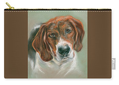 Basset Hound Mix Pup Carry-all Pouch
