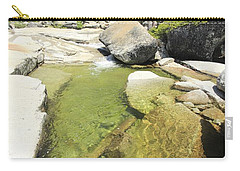 Carry-all Pouch featuring the photograph Bassi Bliss by Sean Sarsfield