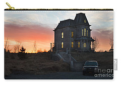 Bates Motel At Night Carry-all Pouch
