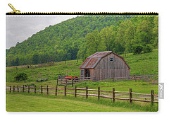 Carry-all Pouch featuring the photograph Bath Barn 0428a by Guy Whiteley