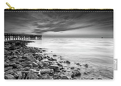 Carry-all Pouch featuring the photograph Bathe In The Winter Sun by Edward Kreis