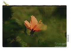 Carry-all Pouch featuring the photograph Bathed In Light by Debby Pueschel
