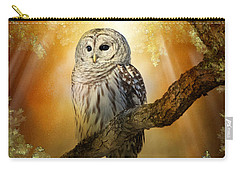 Bathed In Light  Carry-all Pouch by Heather King