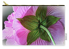 Carry-all Pouch featuring the photograph Bathed In Pink by Ella Kaye Dickey