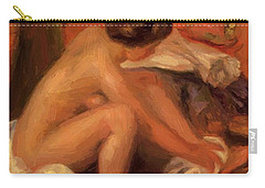 Bather Drying Her Feet 1907 Carry-all Pouch