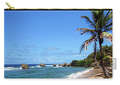 Carry-all Pouch featuring the photograph Bathsheba, Barbados, by Kurt Van Wagner