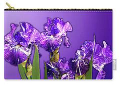 Batik Irises Carry-all Pouch