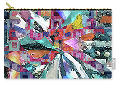 Batik Overlay Carry-all Pouch
