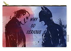 Batman And Joker Carry-all Pouch