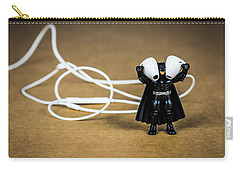 Batman Likes Music Too Carry-all Pouch