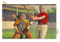 Batter Up 1895 Carry-all Pouch by Padre Art