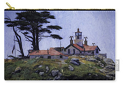 Battery Point Lighthouse Crescent City California Carry-all Pouch