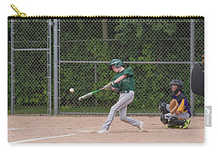 Batting V Carry-all Pouch by James Meyer