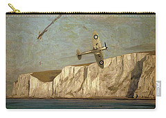 Battle Of Britain Over Dover Carry-all Pouch