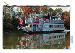 Carry-all Pouch featuring the photograph Bavarian Belle Riverboat by LeeAnn McLaneGoetz McLaneGoetzStudioLLCcom