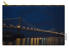Bay Bridge At Night Carry-all Pouch