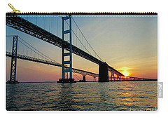 Bay Bridge At Sunset  Carry-all Pouch