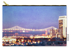 Bay Bridge Glow - San Francisco, California Carry-all Pouch