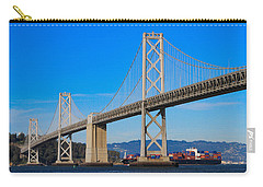 Bay Bridge With Apl Houston Carry-all Pouch