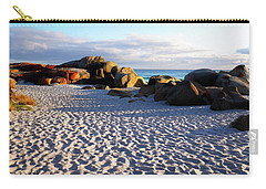 Bay Of Fires Sunrise Carry-all Pouch by Lexa Harpell
