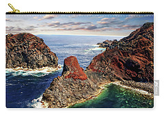 Bay Of Ponta Da Barca Carry-all Pouch