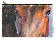 Thoroughbred Royalty Carry-all Pouch