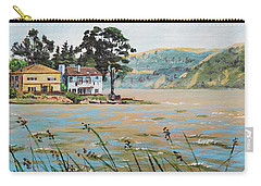 Bay Scenery With Houses Carry-all Pouch