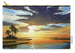 Bay Sunset Carry-all Pouch by Rick McKinney