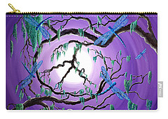 Bayou Peace Tree Carry-all Pouch by Laura Iverson