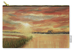 Bayou Sunrise Carry-all Pouch by Barry Jones