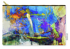 Carry-all Pouch featuring the painting Bayou Teche by Dominic Piperata