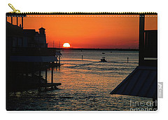 Bayou Vista Sunset Carry-all Pouch