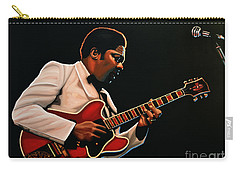 B. B. King Carry-all Pouch by Paul Meijering