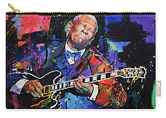 Bb King Carry-all Pouch by Richard Day