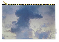 Blue Bunny Cloud  Carry-all Pouch