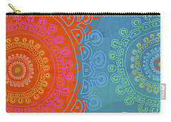 Carry-all Pouch featuring the painting Be Exactly Who You Are by Lisa Weedn