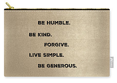 Be Generous Carry-all Pouch