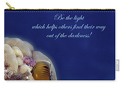 Be The Light Which Helps Others Carry-all Pouch