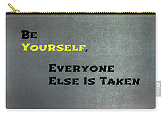 Be Yourself #1 Carry-all Pouch