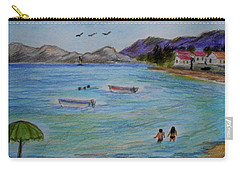 Beach Activities  Carry-all Pouch